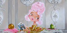 Princess and the Frog  acrylic on linen 50x100    https://www.facebook.com/pages/Kunst-van-Rita-Vjodorowa/293195414042781?ref=hl