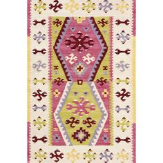 Give your room a color pop with this boho beauty based on one of Annies vintage flea market finds.
