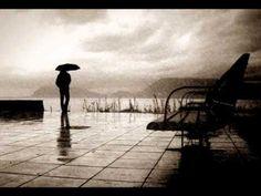 Feeling alone quote - standing in rain boy Music Songs, My Music, Im All Alone, Lea Salonga, Waylon Jennings, Kissing In The Rain, Alone Quotes, Jamel, Greek Music