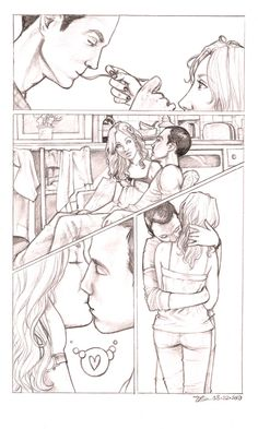 """The Big Bang Theory . pencil Art done for help_haiti auction donation, a scene from the fic """"Finding the Proper Tense"""" by ladylioness. The Paradox Continuum Penny And Sheldon, Sheldon Leonard, Big Bang Theory Series, Paradox, Art Sketchbook, Bigbang, Geek Stuff, Deviantart, Funny"""