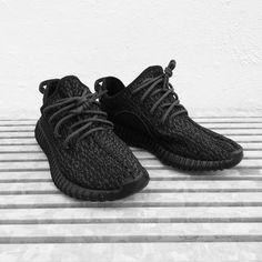 "Adidas Yeezy 350 Boost ""Black"""