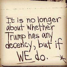Dear Rest of the US, Trump has never had any. Love always, NY & NJ