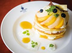 Pear & Mango Pancakes
