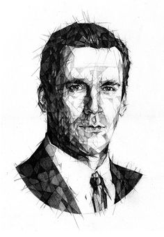 portrait Mad men — Designspiration
