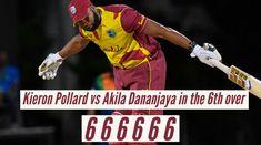 एक मैच में दो कमाल: #श्रीलंका के जिस गेंदबाज ने ली विकेटों की हैट्रिक, उसी के 1 ओवर में पोलार्ड ने जड़े 6 छक्के, देखें वीडियो आगे पढ़े..... #KieronPollard #SrilankavsWestIndies #SLvsWI #Srilanka #WestIndies #T20 #SLvsWIT20