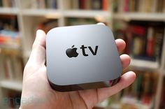 Apple TV: Man, we LOVE the Apple TV.  So small, yet so good. We get a lot of use out of it, from netflix to new rentals to streaming our library of movies at home over the network.  Love the interface, too.  Gonna pick up one of the new 1080p models sometime in the near future.