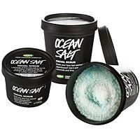 from Lush Cosmetics! from Lush Cosmetics! Salt Face Scrub, Body Scrub, Hand Scrub, Ocean Salt Lush, Lush Shop, Sephora, Urban Decay, Lush Fresh, Sea Spray