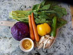 Basil and Sage Collard Greens, Basil, Sage, Healthy Snacks, Carrots, Wraps, Stuffed Peppers, Vegetables, Blog