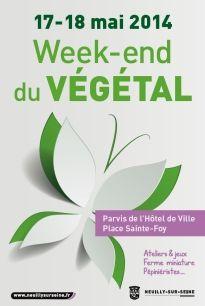 Week-end du végétal. Du 17 au 18 mai 2014 à Neuilly-sur-seine.