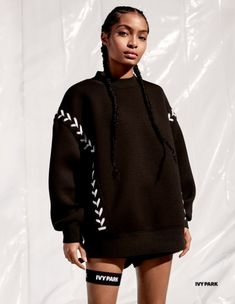 Beyoncé and Yara Shahidi Star In The New Ivy Park Campaign - Fashionista Source by outfits black girl Black Girl Magic, Black Girls, Fashion Beauty, Womens Fashion, Fashion Trends, Fashion Outfits, Lady, Beautiful People, Celebrity Style