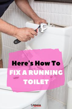 Some of the problems of a leaky or running toilet can be a leaky flapper which can easily be resolved by buying a new one at your nearest hardware store. Here's How to Fix a Running Toilet With a Ball Float: A Detailed Guide Toilet Ideas, Bidet Toilet Seat, Dual Flush Toilet, Task To Do, Portable Toilet, Toilet Bowl, Fix You, Toilets, Toilet