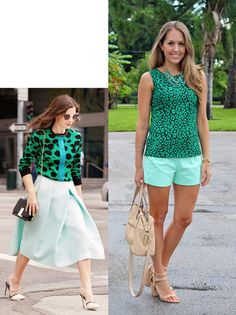 Today's Everyday Fashion: Shades of Green