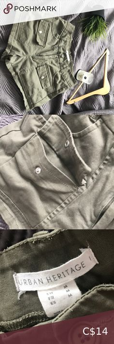 Shop Women's Green size M Cargos at a discounted price at Poshmark. Description: The condition is really good. They have 4 front pockets and are comfortable. It would look great with white. Khaki Shorts, White Shorts, Plus Fashion, Fashion Tips, Fashion Trends, Looks Great, Pockets, Best Deals, Closet
