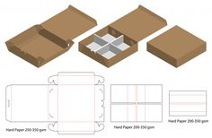 Cut box packaging design packaging template box die cut template box packaging box template cut Vectors, Photos and PSD files Box Packaging Templates, Packaging Design, Diy Gift Box, Diy Box, Gift Boxes, Paper Box Template, Origami Templates, Box Templates, Restaurant Flyer