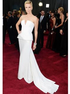 Charlize Theron in Dior Haute Couture.