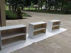 Building bookshelves for the classroom