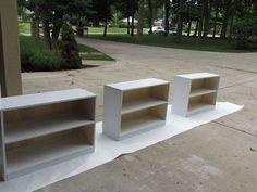 Building Bookshelves