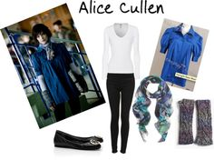 Ashely Greene as Alice Cullen. New Moon outfit. Twilight countdown. :)