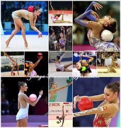 Evgenia Kanaeva of Russia - beautiful!