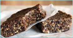 V- sprouted buckwheat energy bars Low Carb Desserts, Vegan Desserts, Raw Food Recipes, Cooking Recipes, Healthy Recipes, Walnut Dry Fruit, Low Carb Granola, Gluten Free Recipes For Breakfast, Free Breakfast