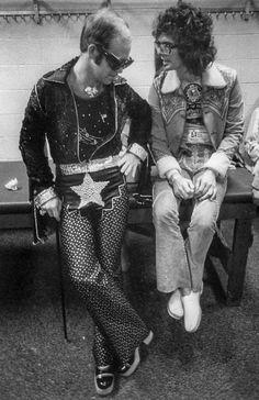 Al Kooper with Elton John