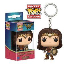 Pocket POP! Keychain: Wonder Woman: WONDER WOMAN