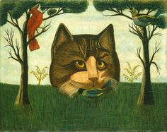 Artist unknown - The Cat, probably second half 19th century - National Gallery of Art, Washington, DC