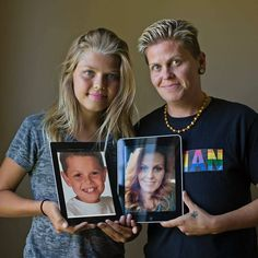 @Regrann from @natgeo - Sometimes our children lead the way. Corey, 14, socially transitioned from boy to girl in the past few years. She gave her Mom, Eric(a) the courage to begin her own transition from female to male. They are moving in opposite directions but toward their true selves. After her first shot of testosterone Erica said she finally felt 'complete'. Photo by @ljohnphoto for Nat Geo's Special Issue-Gender Revolution. @natgeo @thephotosociety