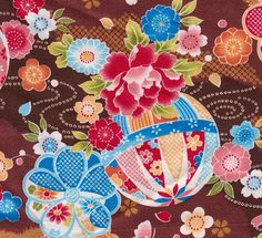 Japanese textile.  One of my favourite things! ^^