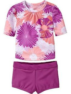 Rashguard & Boy-Short Swim Sets for Baby | Old Navy $15.00