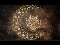 Create Arabic Islamic Calligraphy Art - Golden Moon - YouTube