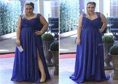 vestido de festa plus size para madrinha de casamento 6 - Copia