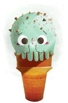 helados con personalidad