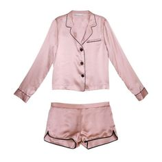 The right way to do sleepwear. Fleur Du Mal PJ Set, $523