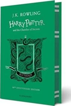 Harry Potter and the Chamber of Secrets - Slytherin Edition by J. Rowling, available at Book Depository with free delivery worldwide. Slytherin, Hogwarts, Harry Potter Colors, Chamber Of Secrets, Prisoner Of Azkaban, Personal Library, Fantastic Beasts And Where, British Library, Reading Online