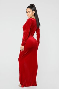 Never Ending Night Maxi Dress - Red – Fashion Nova Satin Dresses, Day Dresses, Myanmar Women, Dress Skirt, Dress Red, Dress Black, Beautiful Asian Girls, Fashion Outfits, Red Fashion