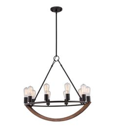 Quoizel Anchor 10 Light Chandelier in Imperial Bronze $679. ANR5010IB #lightingnewyork #lny #lighting