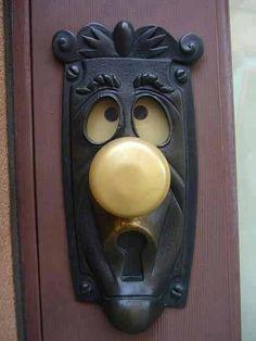 Maybe the door to my secret garden ;)