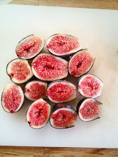 My grandma and my parent's have fig trees...yum, especially warmed in the oven or fresh off the tree!