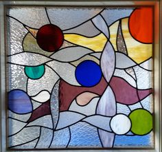Bathroom Window Bathroom Windows, Stained Glass, My Arts, Abstract, Artwork, Handmade, Mosaics, Work Of Art, Summary
