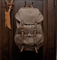 Rucksack. Love the bag itself not so much the fabric though