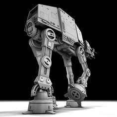 AT-AT Walker Models available on Turbo Squid, the world's leading provider of digital models for visualization, films, television, and games. At At Walker, Star Wars Images, Star Wars Action Figures, Lego, Geek Stuff, Stars, Building, Star Wars, Geek Things