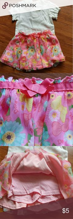 Nickelodeon Dora Skirt Like new, great condition. No stains, tears, or holes. Polyester and cotton. Shorts inside. Nickelodeon Bottoms Skirts