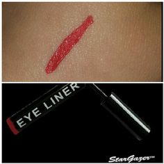 Product Review: Stargazer Eyeliner in Red. The stargazer eyeliner is incredible! It is very pigmented and long lasting. For a different look, apply the bright red liner along your top lash line and apply a black mascara to add a barrier between the liner and your eye. When working with Special FX make up, this liner is perfect to use either for drops or splatters of blood by simply flicking back the brush. Buy Online…