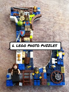 6. LEGO #Photo Puzzles