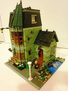 GREEN MANSION -Lego