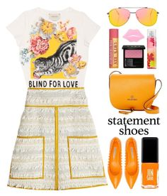 """Spring Brights"" by stavrolga ❤ liked on Polyvore featuring Roberto Festa, Gucci, See by Chloé, JINsoon, Topshop, Mario Valentino and Burt's Bees"