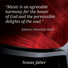 #Music and #Bach.