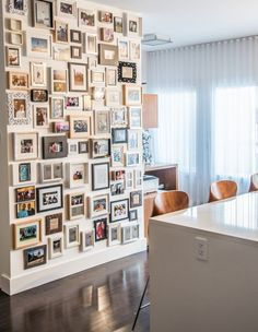 decoración con fotos de familia