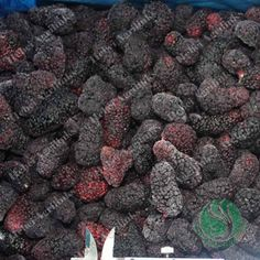 Frozen Mulberry Frozen Vegetables, Stuffed Mushrooms, Fruit, Food, Stuff Mushrooms, Eten, Meals, Diet